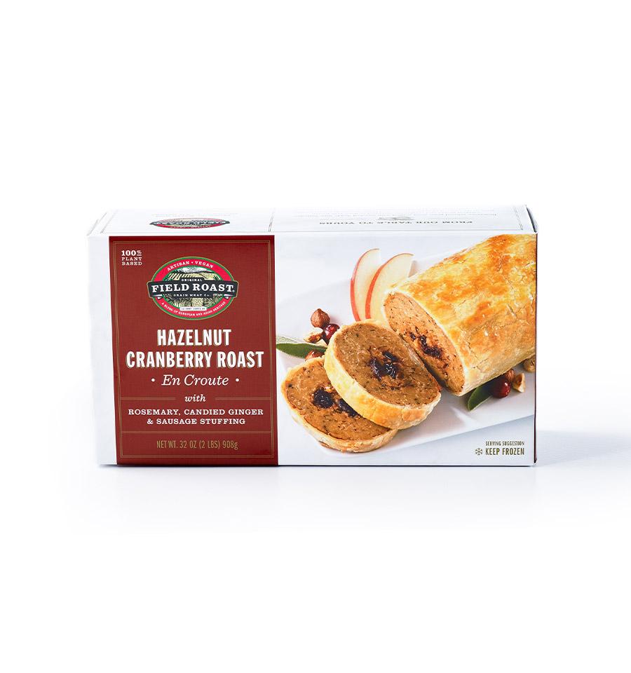Hazelnut Cranberry Roast En Croute