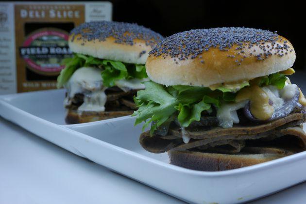 Dijon Wild Mushroom Roll