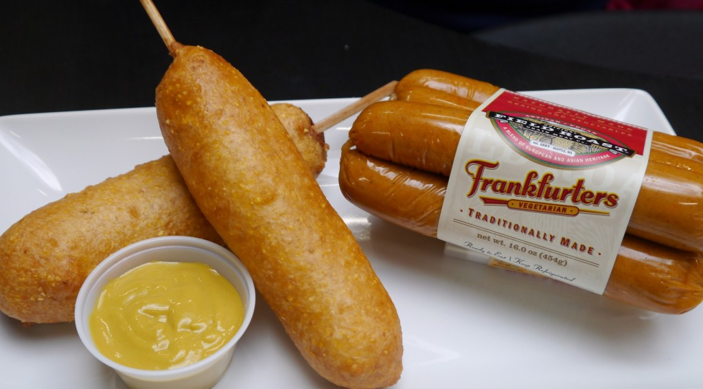 Corn Fried Frankfurters
