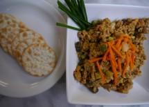 vegan curry salad