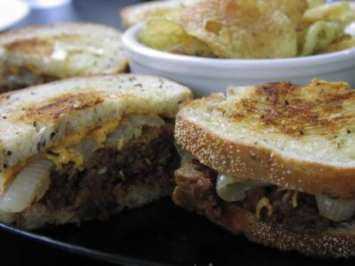 Meatloaf Patty Melt