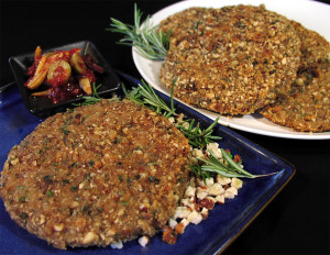 Hazelnut Herb Breaded Cutlets