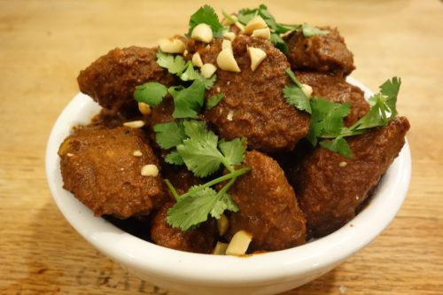 Image for Fruffalo Wings – Mole with Mexican Chipotle Sausage
