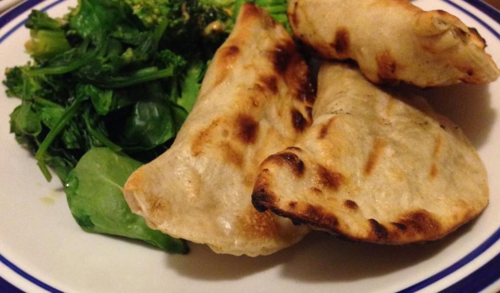 Grilled Vegan Pierogies