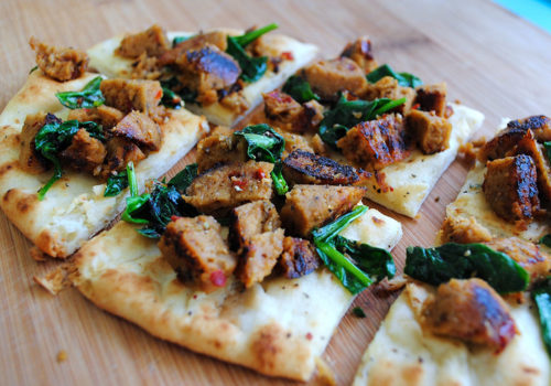 Image for Italian Sausage Flatbread