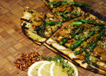 LS & Asparagus Grilled Pizza 5 21