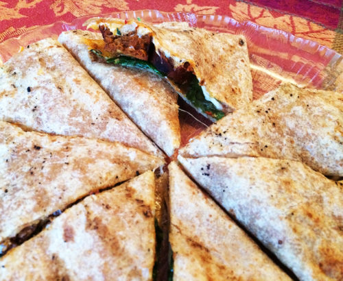 Grilled Chipotle Quesadilla