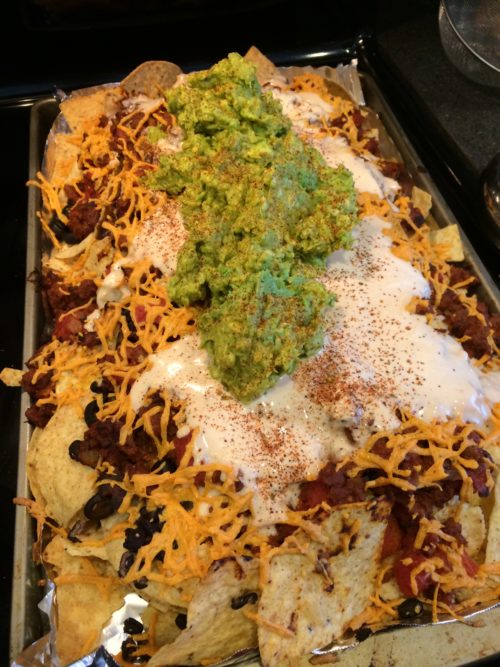 Gameday Field Roast Chili Nachos