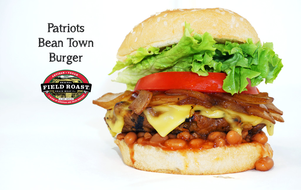 "Patriots ""Bean Town Burger"""