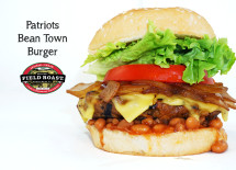 "Patriots ""Bean Town Burger"" - Field Roast"