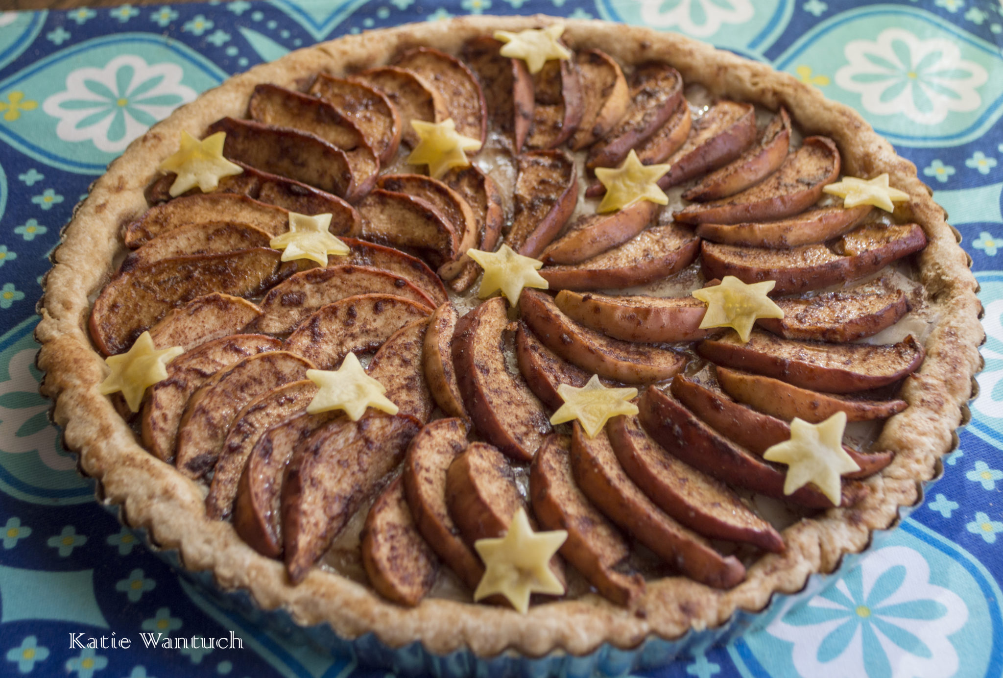 Apple Chao Cheese Tart