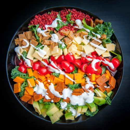 Loaded Field Roast Cobb Salad