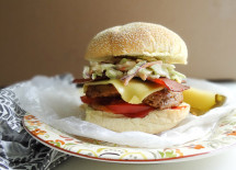 Bacon & Slaw Cheeseburger (square)