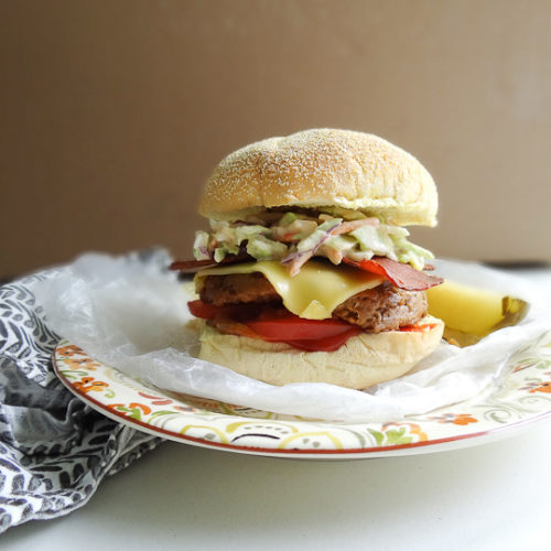Image for Bacon & Slaw Cheeseburger