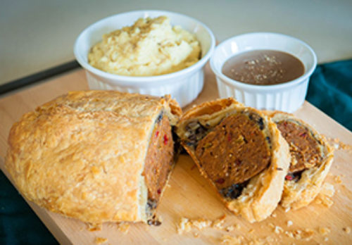 Image for Vegan Meatloaf Wellington with Gravy