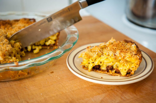 Mac n' Chao Cheese Pie