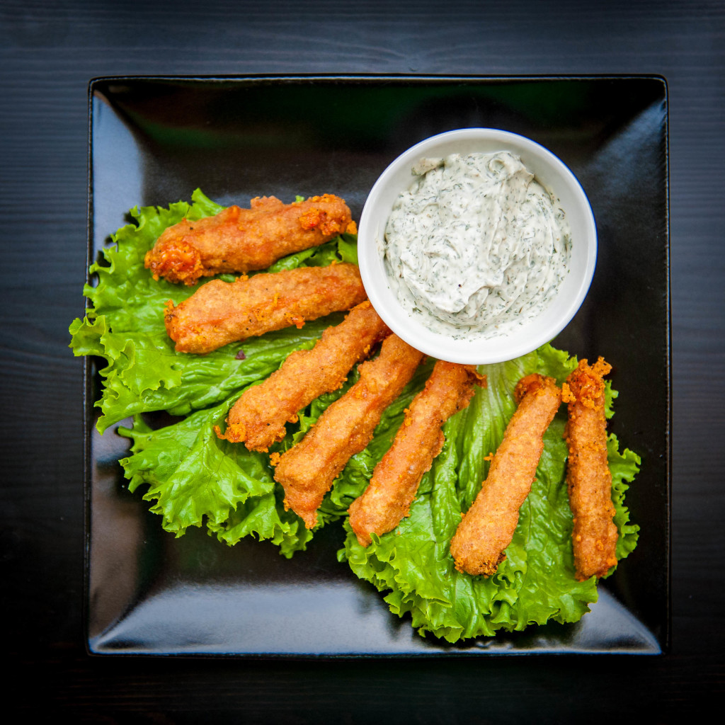 Spicy Chao Cheese Sticks with Ranch