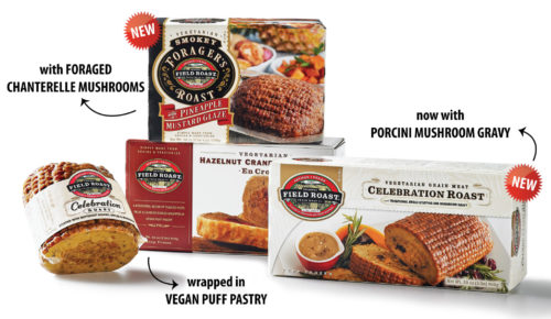 NEW Gourmet Vegan Roasts this Holiday!