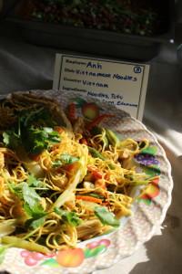 Vietnamese Noodles and Vegetables