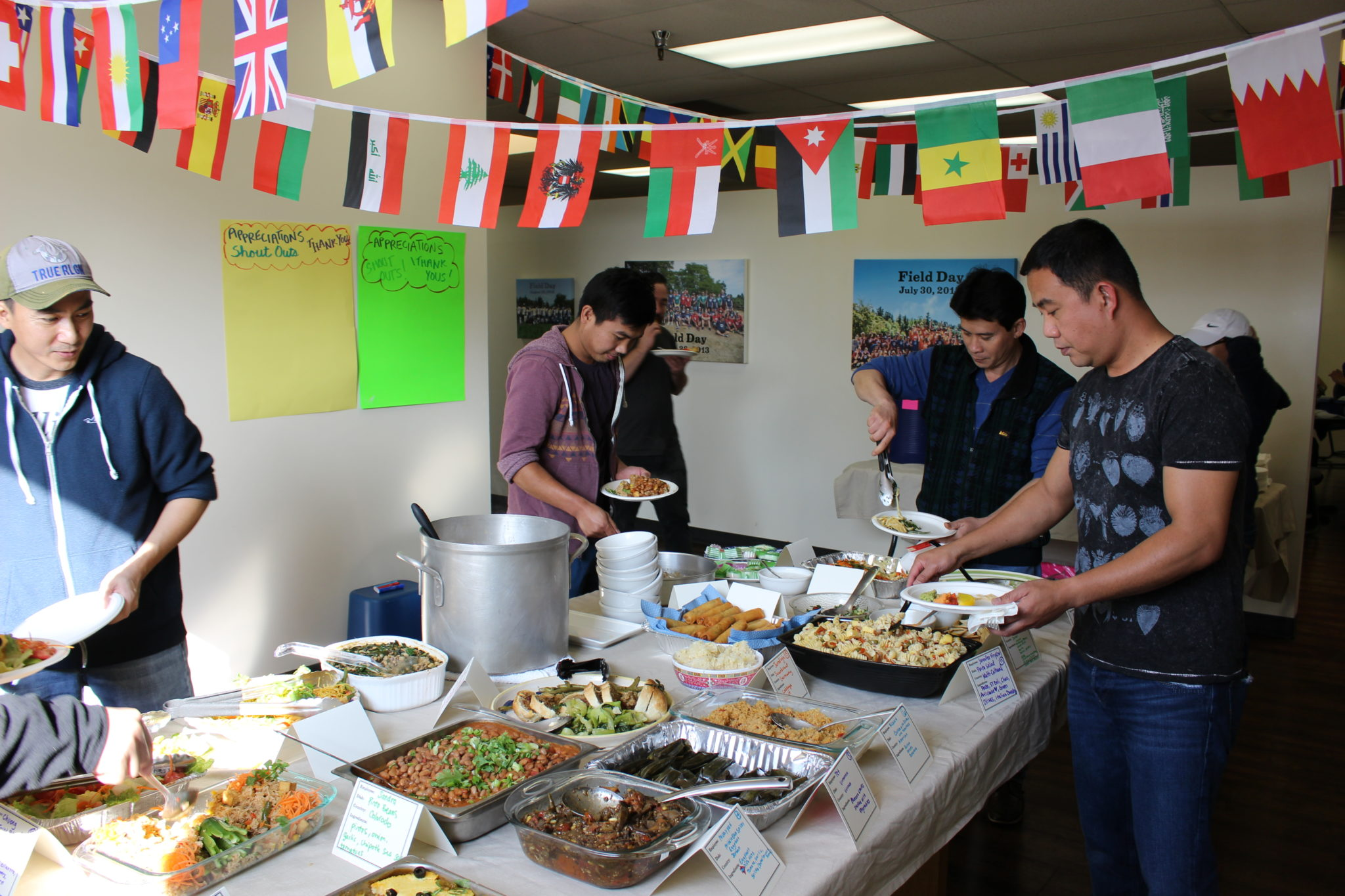 World Vegetarian Day Community Potluck