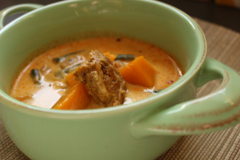 Spicy Coconut & Winter Squash Soup