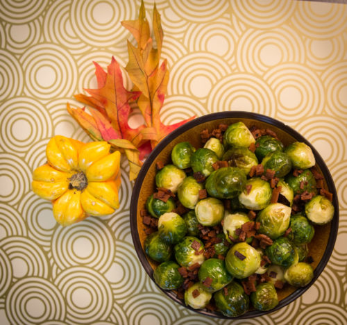 Image for Smoked Tomato Brussels Sprouts