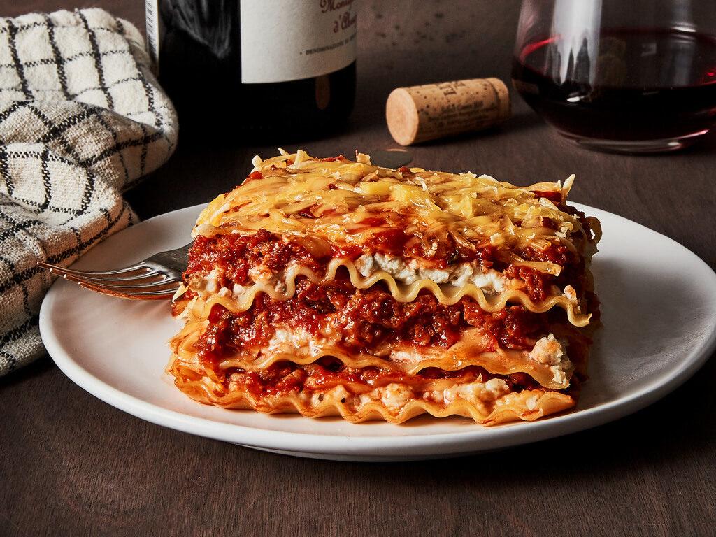 Chao & Vegan Bolognese Lasagna
