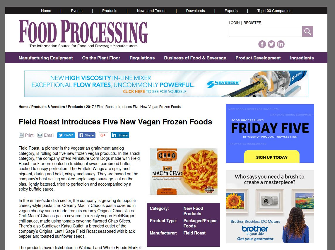 Image for Food Processing