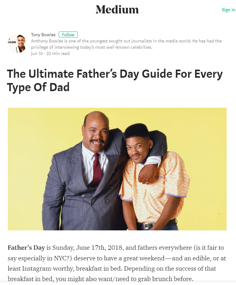 Image for The Ultimate Father's Day Guide For Every Type Of Dad (Field Roast Cookbook)