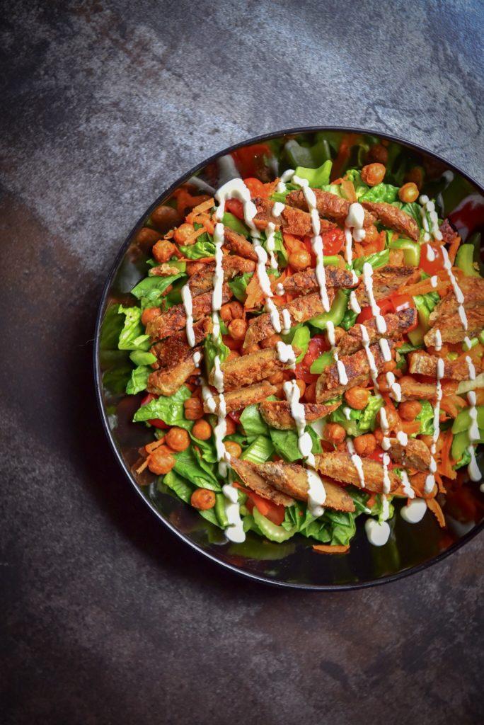 FRuffalo Wings Chickpea Salad