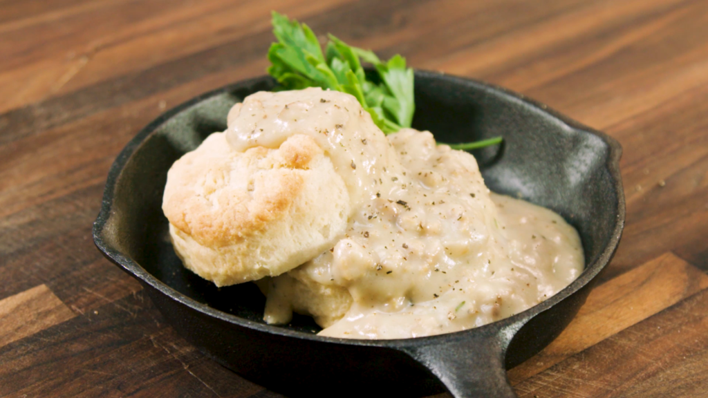 Sexy Southern Sausage Gravy and Biscuits