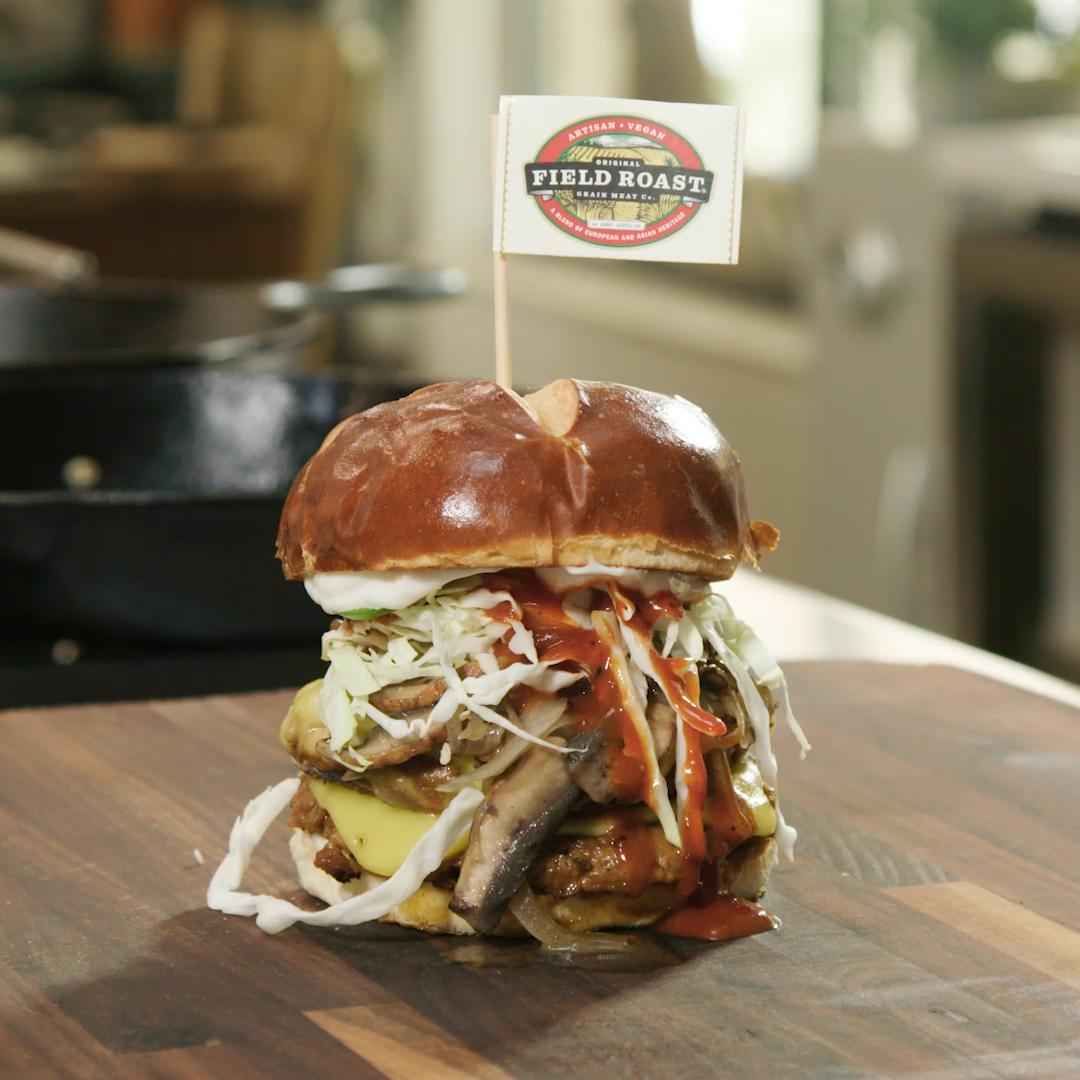 Double BBQ Cheeseburger