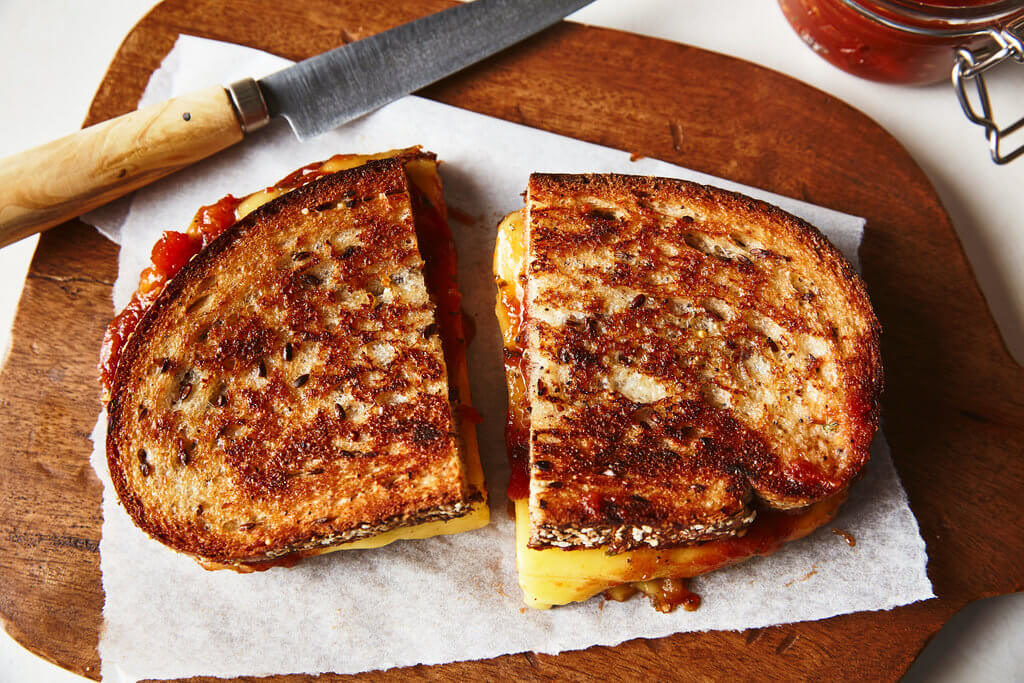 Grilled Chao Sandwich