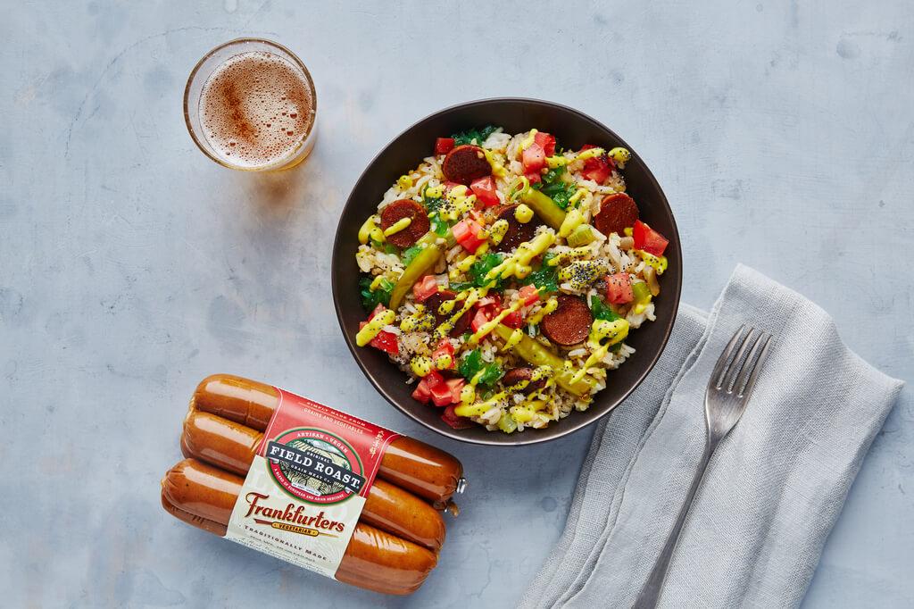 Chicago-Style Hot Dog Fried Rice